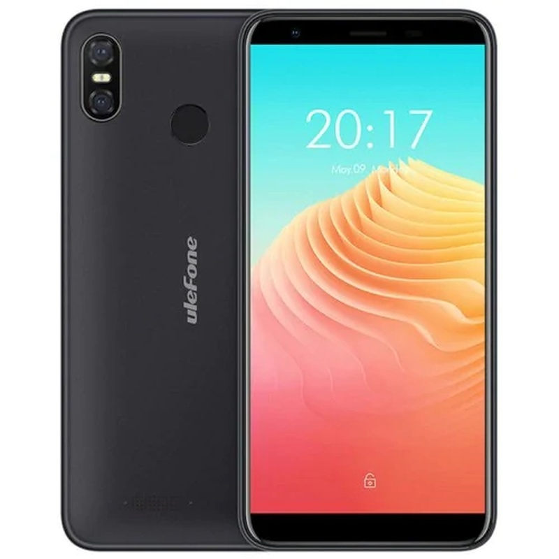 "Ulefone S9 PRO Bleck O2 SmartPhone 2GB RAM 16GB ROM 5.5"" Telephone MTK6739 Quad Core Android 8.1 8.0MP Fingerprint Mobile Phone"