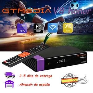 Tv-Satellite-Receiver Honor Gtmedia V7s Freesat V7 DVB-S2 WIFI Built-In Hd Also Full-Upgrade