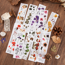 Flowers Diary Series Botany Stickers Creative Bullet Journal Stationery School Scrapbooking Deco Stickers aesthetic daisy