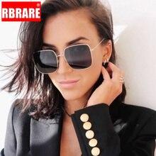 RBRARE Classic Square Sunglasses Women Brand Designer Retro