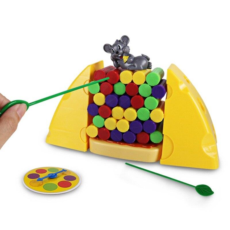 brinquedo plastico presente de aniversario do bebe jimmy mouse amor chees bloco de desktop pai crianca