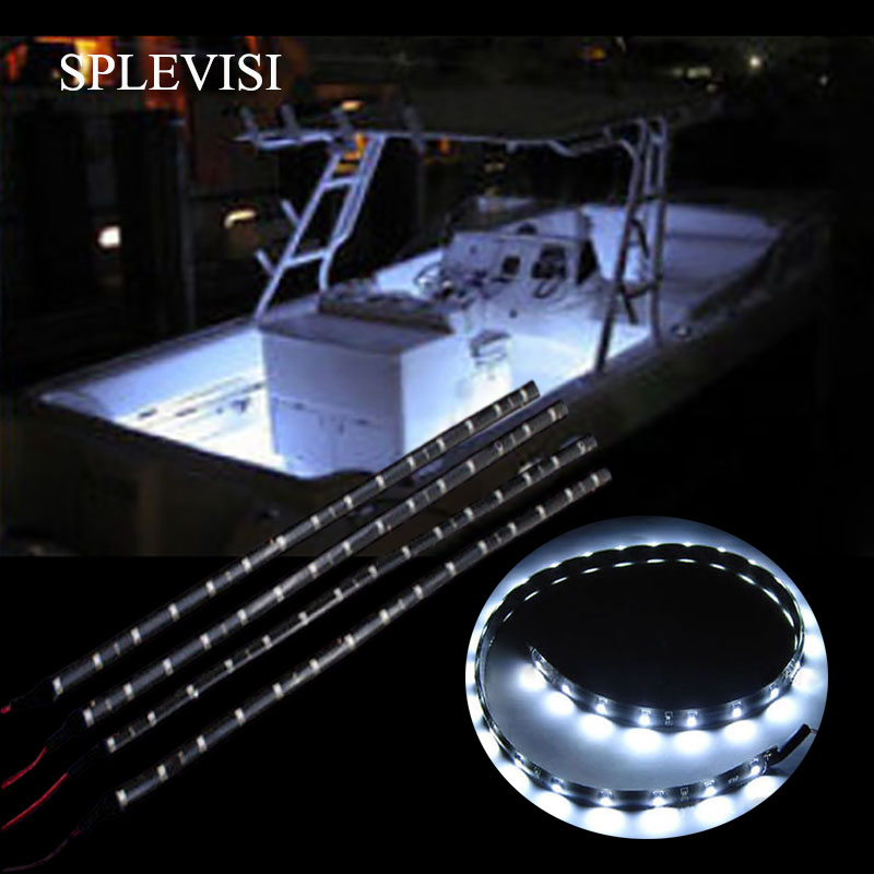 Red Green Submersible Navigation Light Waterproof Marine Boat 12V Bow LED Strips