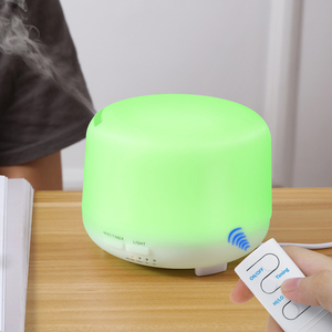 Image 2 - 300ML Ultrasonic Aromatherapy Humidifier Essential Diffuser น้ำมันเครื่องฟอกอากาศสำหรับ Home Mist Maker Aroma Diffuser Fogger LED LIGHT