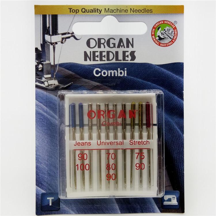 ORGAN NEEDLES #100//16 Jeans x 5 Needles