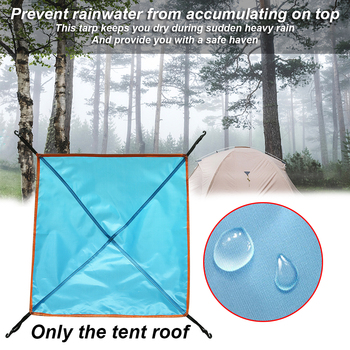 NEW Outdoor Camping Waterproof Cloth Tent Tarp Lightweight Rain Fly Portable Sun Shelter Picnic Roof Cover Canopy Anti UV Awning portable small awning summer outdoor beach face tent umbrellas face tent lightweight sun shelter canopy uv protection 2020 new