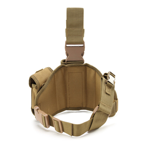 Image 4 - Tactical Leg Gun Holster Outdoor Army Multi function Camouflage Bag Tied Leg Pistol Protective Cover Phone Pocket Hunting Gear