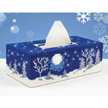 New diy 5d diamond painting landscape tissue box diamond mosaic full round drill hand embroidery This is not a tissue box M975(China)