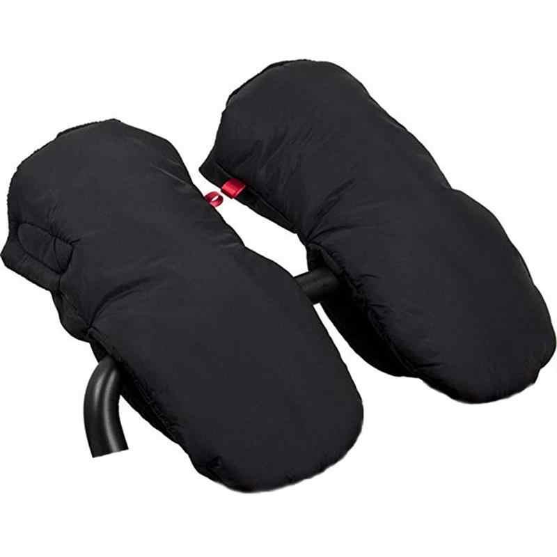 ฤดูหนาวใหม่กันน้ำหนารถเข็นเด็กมือ Muff Carriage Hand Cover รถเข็นเด็กทารกที่อบอุ่นถุงมือสำหรับผู้ปกครองและผู้ดูแล