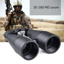 Super 30-260X160 zoom binoculars black HD ll night vision binoculars with BAK4 prism for outdoor camping and moon watching 2020