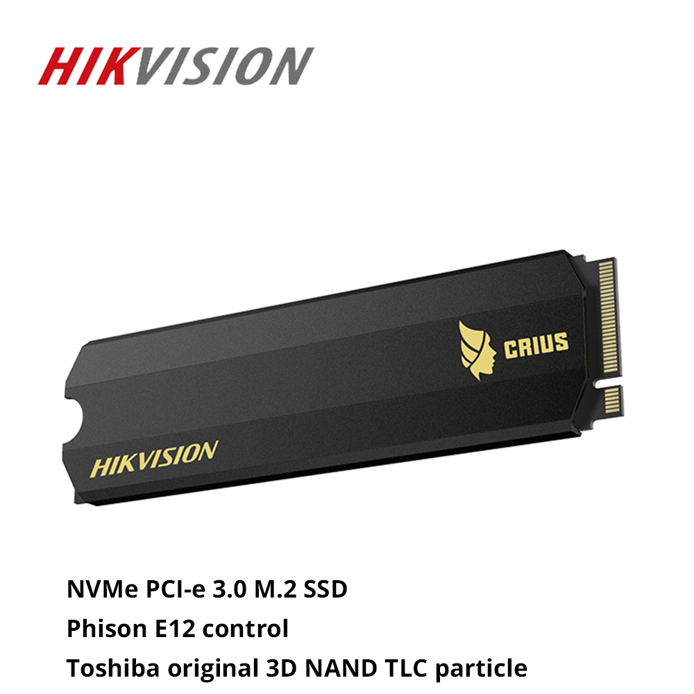 Hikvision SSD M2 512GB C2000 Pro 3500Mb/s NVMe Internal Solid State Drives PCIe Gen 3 X 4 3D Flash For Toshiba TLC