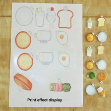 10шт/много A4 для печати термоусадочной лист бумаги дизайн инструмент DIY искусство рисования