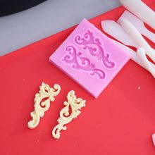 3D Relief Cake Silicone Flower Molds Fondant Cake Decorating Tools Cupcake Chocolate Pastry Clay Candy Molds 3d owl animal silicone soap mold resin clay candle molds fondant cake decorating tools chocolate candy pastry cake baking molds