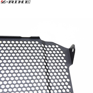 Image 5 - Motorcycle SV650 Radiator Guard Grill Cover Water Tank Cooler Bezel Protector Grille for Suzuki SV 650 SV650 SV650X 2018 2019