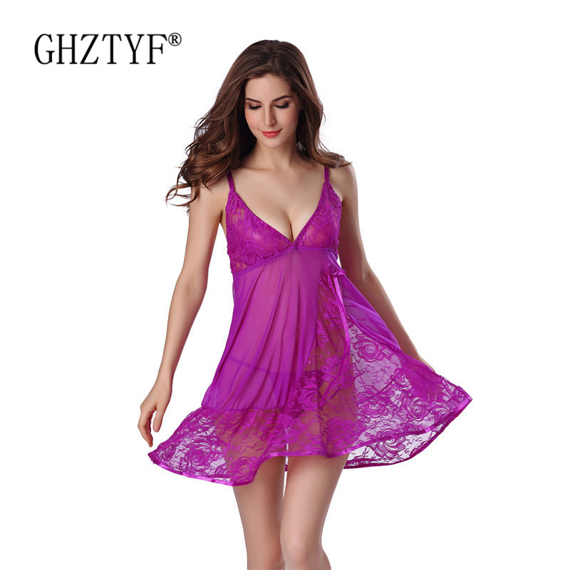 Erotic Lingerie Hot Sexy Woman Underwear Dress Summer Nighty For Sex Porn Intimate Lanjerie Femme Erotique Pajamas Nightdress