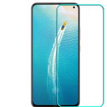 Перейти на Алиэкспресс и купить Закаленное стекло для Vivo V17 SD675 SD665 Стекло 9H 2.5D Защитная пленка Взрывозащищенный прозрачный ЖК-экран протектор чехол для телефона