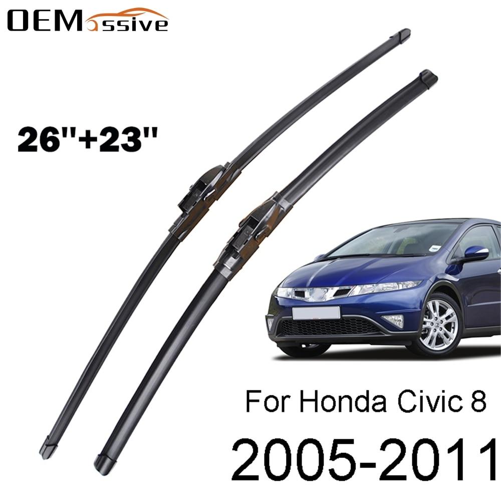 Набор стеклоочистителей на лобовое стекло для Honda Civic 8 MK 8, Европейский 2011, 2010, 2009, 2008, 2007, 2006, 2005
