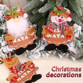 Ozdoby choinkowe na drzewo małe wisiorki lalki kreatywne ozdoby świąteczne ozdoby wiszące ozdoby na choinkę Navidad 2021 tanie i dobre opinie CN (pochodzenie) Home Party Ornament Decor Tak ( 50 sztuk)