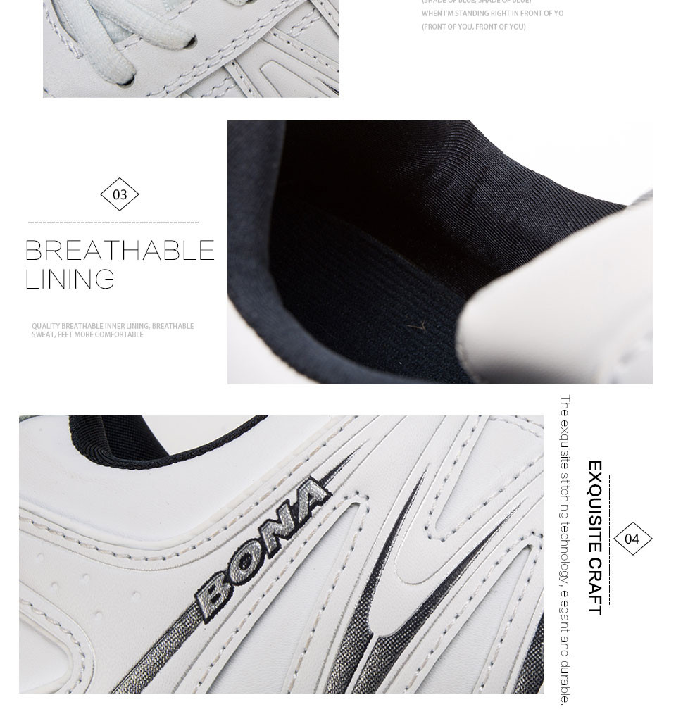 H4cc19443a3eb4d82a82bddf7cca23a23j BONA 2019 New Designers Casual Shoes Men Style Cow Split Sneakers Male Lightweight Outdoor Fashion Footwear Man Trendy Comfy