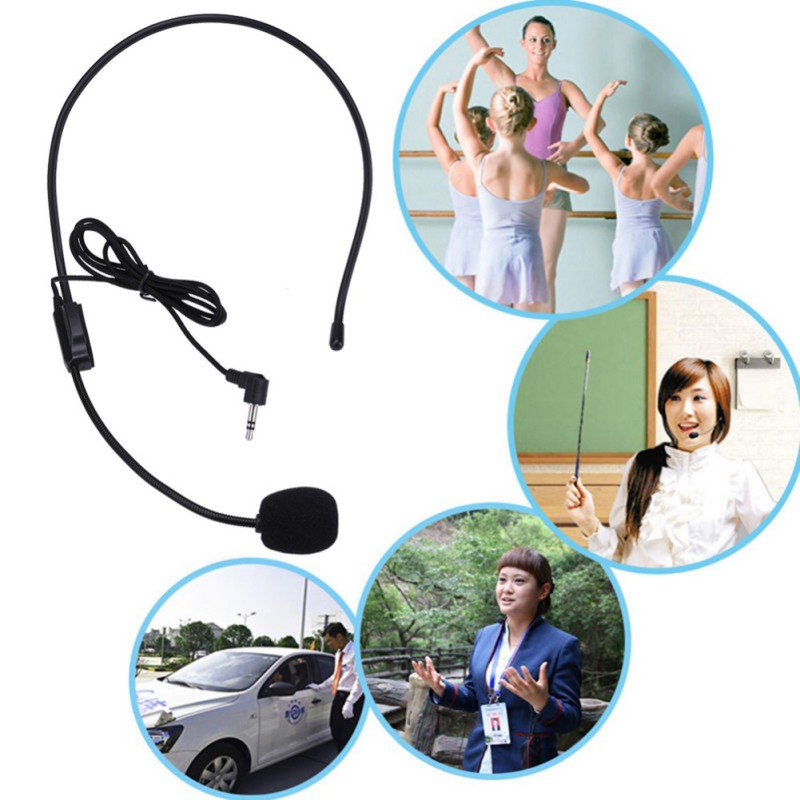 Mini Portable Microphone Headset Microfone 3.5mm Jack Wire Microphone For Loudspeaker Column Mikrofon For Speaker And Computer