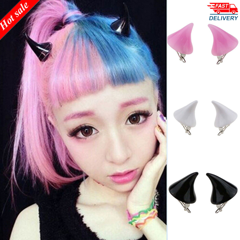 Kid Girl Hair Clip Cute Halloween Party Hairpin Women Cosplay Barrettes Dress Up