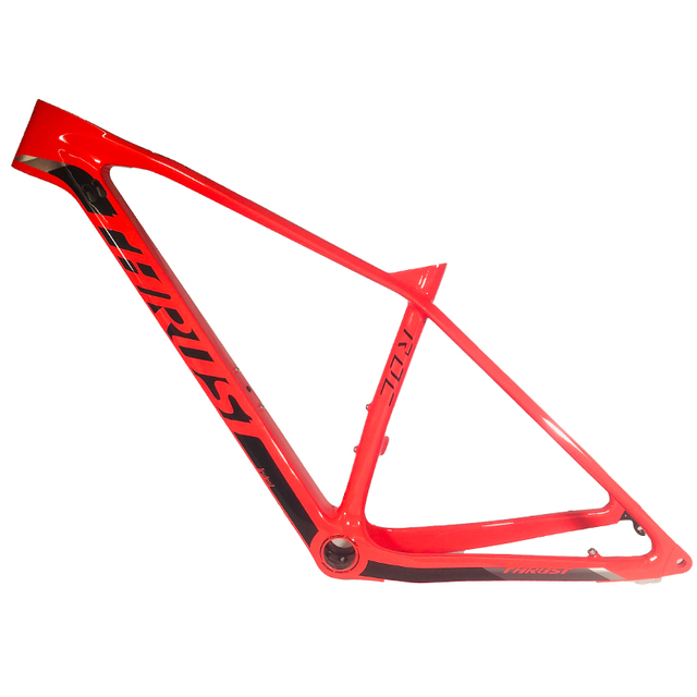 THRUST 2020 Free shipping newest  red BOOST outdoor mountain bicycle frame 148*12mm MTB bike frame UD 29er bicycle accessories