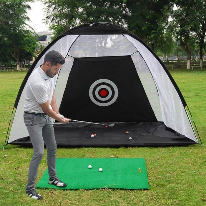 2/3 м Крытая теннисная площадка для гольфа, походная клетка для гольфа, садовая травяная площадка, тренировочное оборудование для гольфа, сет...