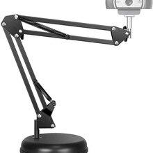 Adjustable Desktop Suspension Boom Scissor Arm Stand Holder with Base for Logitech Webcam C922 C930e C930 C920 C615