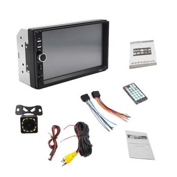 7 Inch Hd Contact Screen Car Bluetooth 2Din Mp5 Player 7018B Car Card Bluetooth Handsfree Reversing Rear View