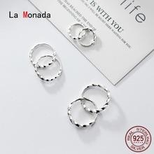 Hoop Earrings In-Jewelry 925-Minimalist 925-Sterling-Silver Women for La-Monada-Twist
