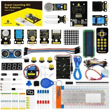 Keyestudio Super zestaw startowy zestaw do nauki (bez UNOR3) do programowania Arduino edukacja + PDF(online)+ łodyga tanie i dobre opinie Rozszerzenie Forum