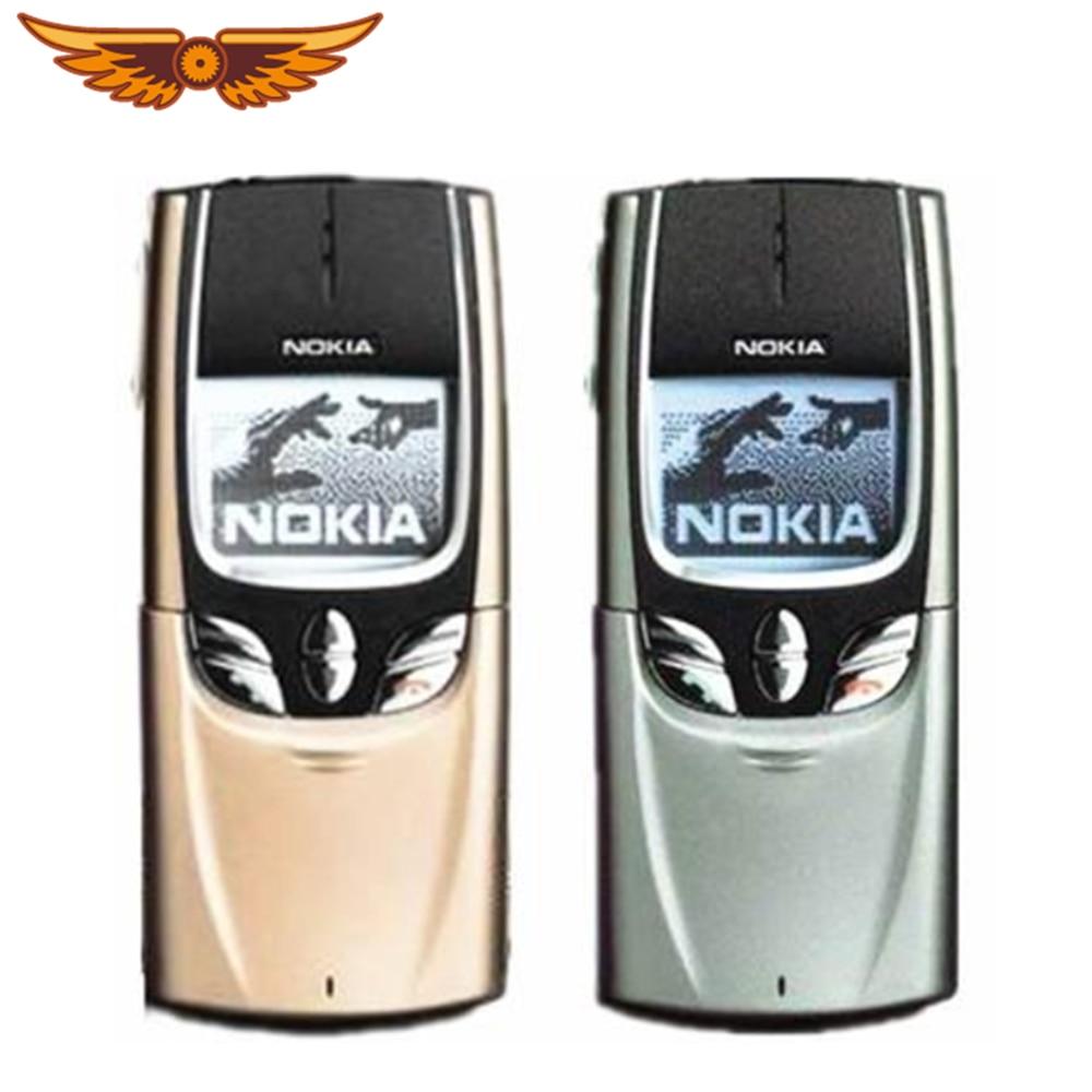 Оригинальный разблокирована Nokia 8850 старый телефон GSM использовать мобильный телефон с русским языком Язык