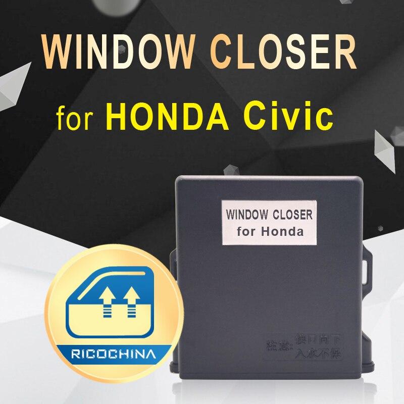 Оригинальный Автомобильный авто силовой стеклоочиститель для HONDA Civic автоматический закрыть окна разумно