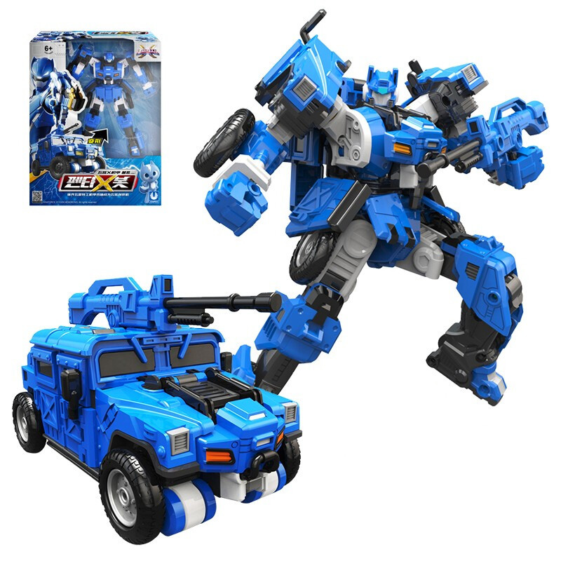 New Mini Force Transformation Tank Robot Toys Action Figures MiniForce X Simulation Fighter Airplane Deformation Mini Agent Toy