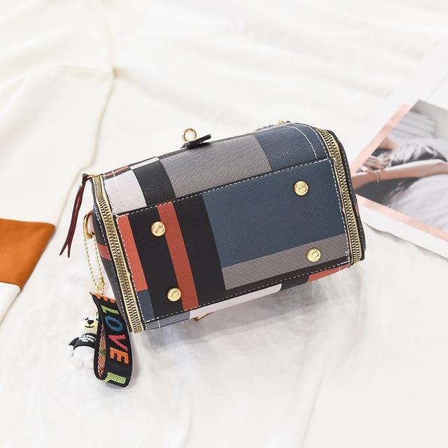 YIZHONG Fashion Women Bag Leather Luxury Brand Handbags Bucket Shoulder Bag Satchels Crossbody Bags for Women Messenger Bags 5