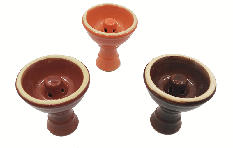Ceramic Vortex Shisha Hookah Bowl Diameter 7cm Height 8cm 2 Colors with Holes in the Top Tower Advanced Version of the Phunnel (21)