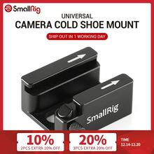 SmallRig DSLR Camera Rig Cold Shoe Mount Adapter with Anti off Button For Microphone Flash Light Monitor Attach 2260