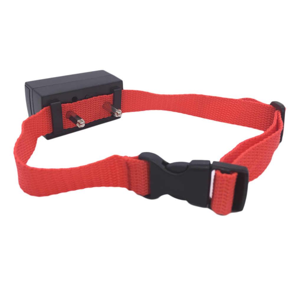 Automático activado por voz de No ladrar Control de entrenamiento para perro contra ladridos Shock Collar de Control producto del perro envío de la gota