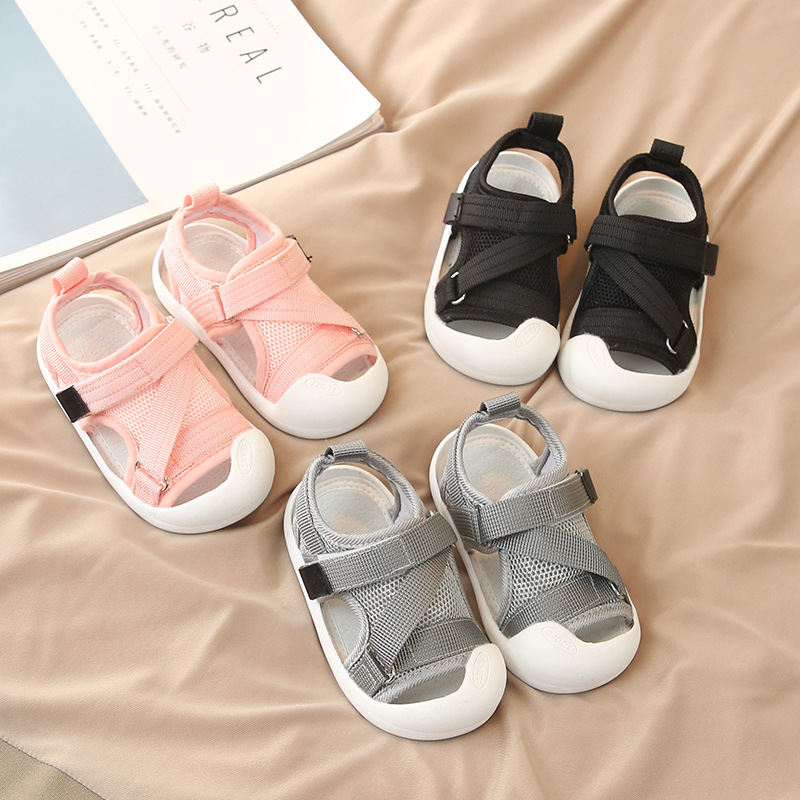 2019 Summer Infant Toddler Shoes Baby Girls Boys Casual Shoes Non-Slip Breathable High Quality Kids Anti-collision Beach Shoes
