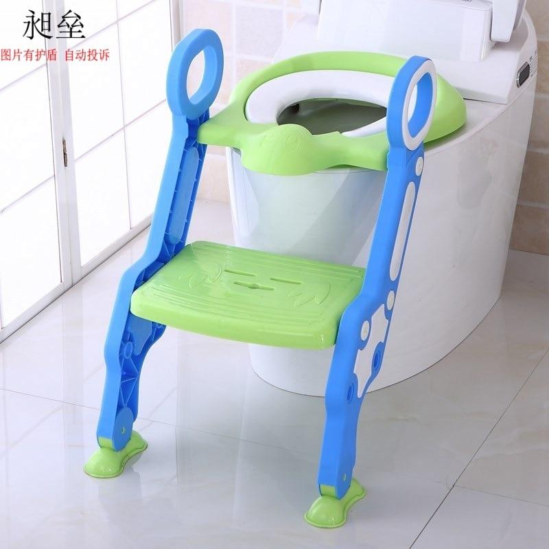Seat Toilet Will Children Children Ladder Pedestal Pan Toilet Simplicity Kids Poop Ladder