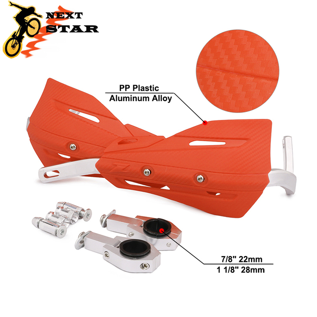 Motorcross 28mm 22mm Handlebar Protection Handguard Handle Bar Hand Protectors For HONDA KTM SUZUKI YAMAHA EXC CRF YZ Motorcycle
