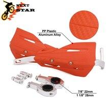 Motorcross Protector de manillar para HONDA KTM SUZUKI YAMAHA EXC CRF YZ, 28mm, 22mm, protección de manillar