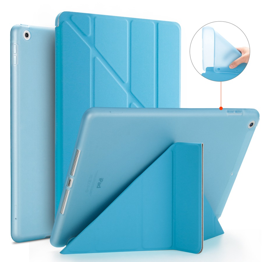 Case Smart-Stand-Cover Soft-Silicon Apple for iPad 7-7th/A2200/A2198/A2232