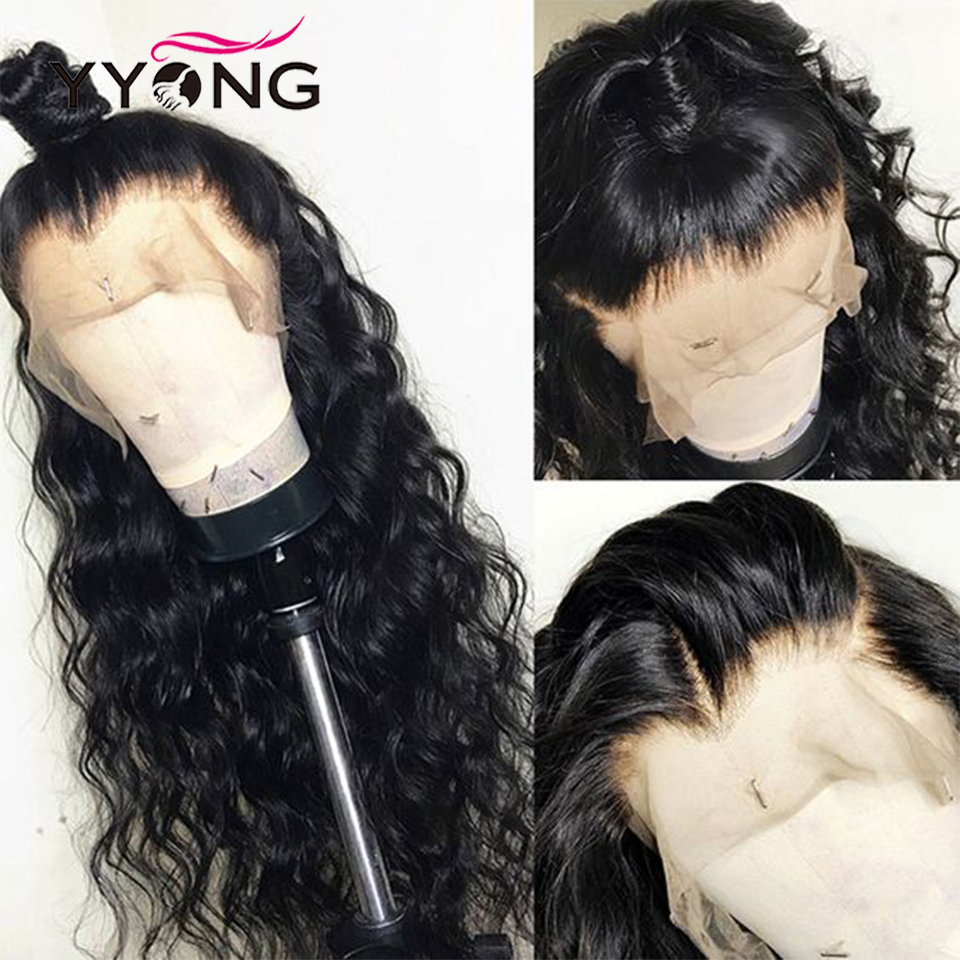 YYong 30inch 13X4 Lace Front  Wig  Loose Deep  Lace Closure Wig Natural Hairline 3