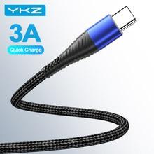 Câble Micro USB 3A pour recharge rapide et données, cordon de chargeur pour téléphone iPhone 11 Pro MAX 12 et iPad
