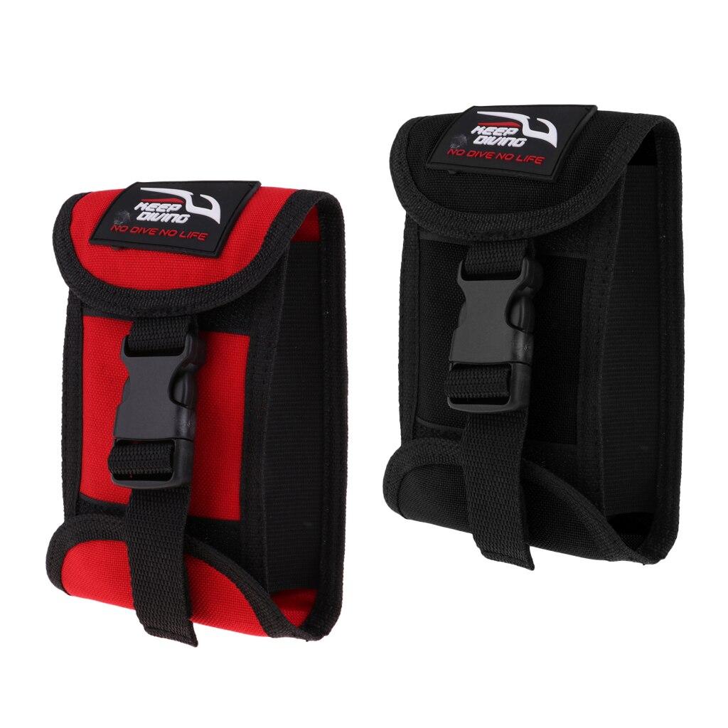 Scuba Diving Weight Belt Pocket & Quick Release Buckle Strap Gear Equipment Accessories Holder Pouch