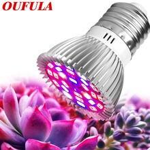 Oufula Светодиодная лампа для выращивания растений красный светло