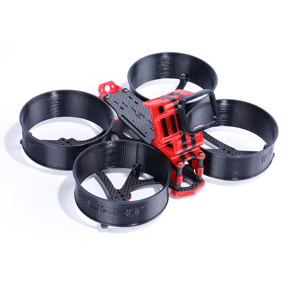 MegaBee V2 3 بوصة FPV نعيق طقم إطارات مع GoPro 7 TPU جبل ل FPV RC سباق drone-في قطع غيار وملحقات من الألعاب والهوايات على  مجموعة 1