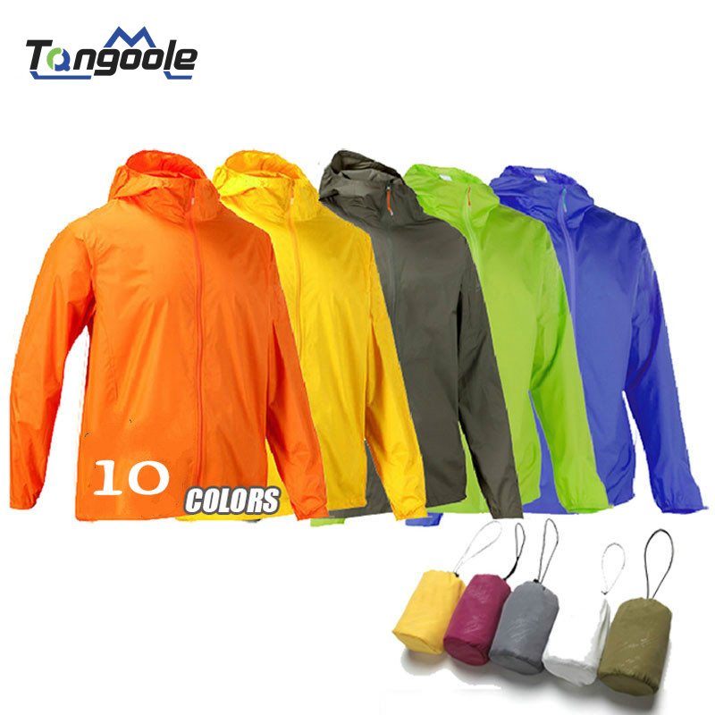 New Waterproof Sun-Protective Outdoor Sports Hiking Jackets Coats Skin Male Female Windbreaker