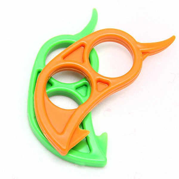 Gratis Pengiriman Mouse Bentuk Lemon Orange Citrus Pembuka Pengupas Penghilang Pemotong Alat Pengiris dengan Cepat Stripping Alat Dapur