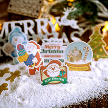 60pcs/lot Cute Merry Christmas Series Decoration Mini Stickers Adhesive DIY Diary Children Gift